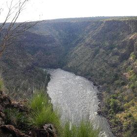 As the name suggests, Gorges sits on the edge of the Batoka Gorge...