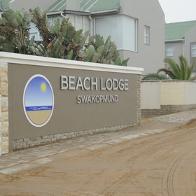 View map of Beach Lodge