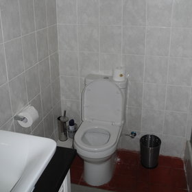 ...and of course a toilet