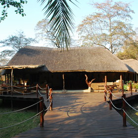 Kaingu Lodge is situated in the south of Kafue National Park.