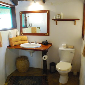 Each room has an en-suite bathroom...