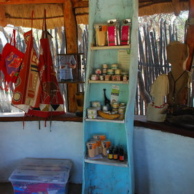 ... you may find something interesting from Zambian culture, or locally made art.