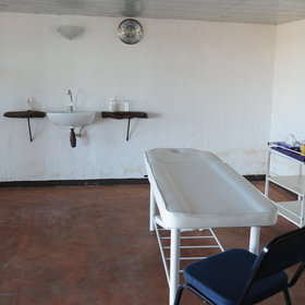 Grootberg has also a small and simple massage room…