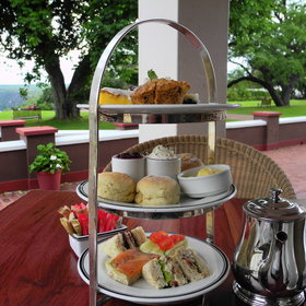 ...while high tea on Stanley's Terrace, overlooking the Falls beyond the lush lawns, is a must