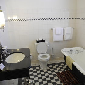 The en-suite bathrooms are finished to a very high standard, with a bath tub, toilet...