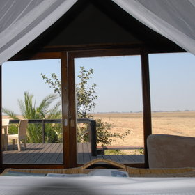 After waking up each day with a wonderful view over the grasslands...