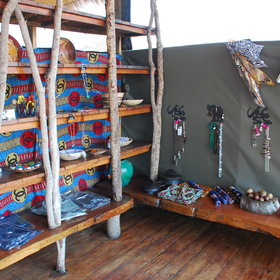 ... where you can find some Zambian crafts.