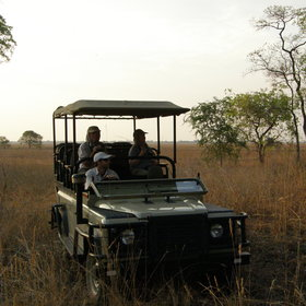 The main activity from Shumba is a vehicle based safari...
