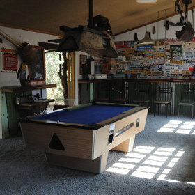 ...or play pool in the main area.