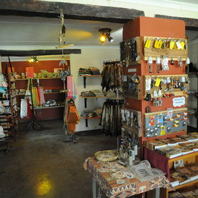 There is also a well-stocked shop with a good range of curios and souvenirs.