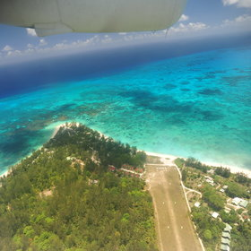 ...about 60 miles north of Mahe Island. It is one of the 'Inner Islands' of the Seychelles.