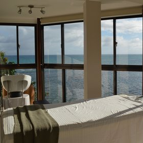 …and the Waterfront spa with a beautiful view…