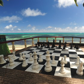 …and giant chess.