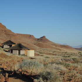Damaraland Camp is situated in the Huab River valley…
