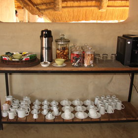 …a tea/coffee station...
