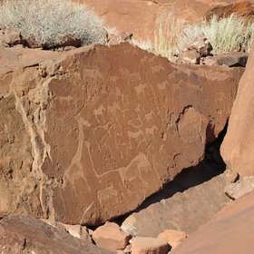 While there, a visit to the Twyfelfontein is a must...