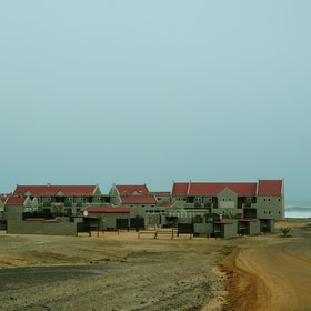 Cape Cross Lodge is situated a few meters from the Atlantic Ocean.