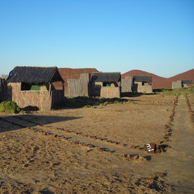Kuidas Camp is situated in southern Damaraland, in the Huab River Valley...