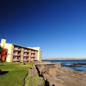 The Nest Hotel is found in Luderitz...