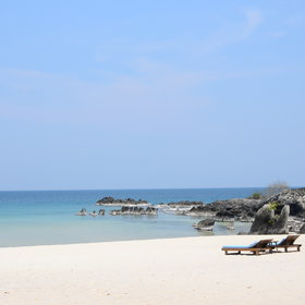 Nkwichi Lodge is renowned for its idyllic beaches…