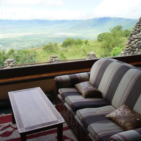 ...where you can relax with a drink and enjoy the views.
