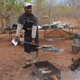 ...the meals produced from the bush kitchen are very tasty.