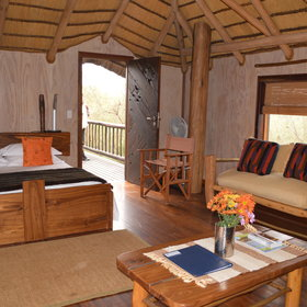 The chalets are clean and comfortable,..