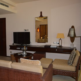 The suites include a sitting area with TV, complementary WiFi, …