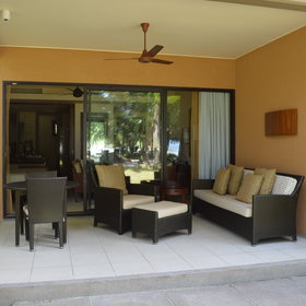 Each suite also has it's own veranda or balcony.