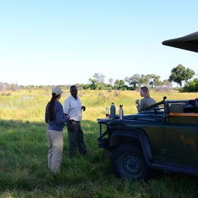 The activities mainly focus on 4WD game drives by day….