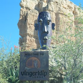 Vingerklip Lodge sits on a hilltop approximately 1km from the striking Vingerklip,…