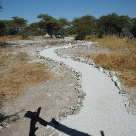 Activities include guided game drives in Etosha National Park or in the Onguma reserve.