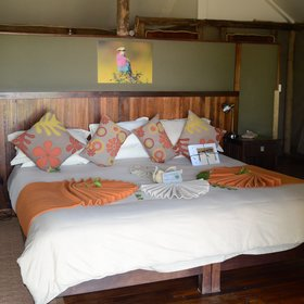 All chalets include a twin or double bed.