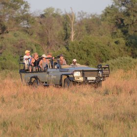 Activities are focused on game drives and the guide and tracker team are...