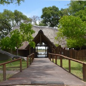Set in a very scenic area, Pom Pom camp is one of the oldest camps in the Okavango Delta.