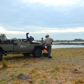 Day and night game drives explore the riverine forest and open plains...