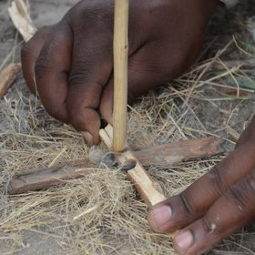 ... do a short walk with a bushman guide to learn about some of their culture and skills.