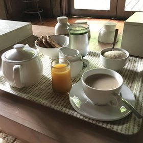 Mornings start with a splendid wake-up service of your choice…