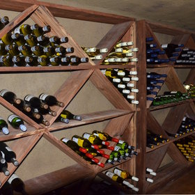 There is also a wine cellar, which keeps a large stock of wines and champagnes.