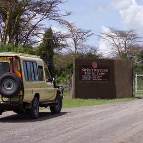 Sweetwaters Serena Camp is at the eastern end of Ol Pejeta.