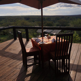 …there is also a raised deck that can be used for sundowners and private dinners.