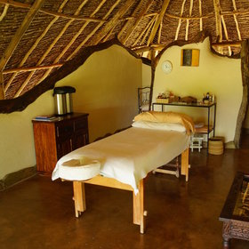 Alternatively, you could relax with one of the treatments in the camp's spa.