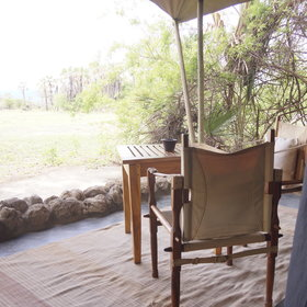 Each chalet also has a private veranda so you can enjoy views of the surrounding area.