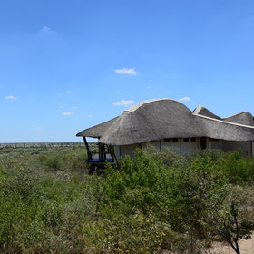 Tau Pan is one of two permanent camps inside the Central Kalahari Game Reserve.