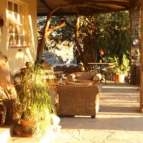 ...Zebra River Lodge offers a good base...