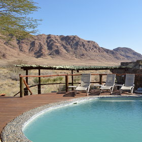 ...allowing you to soak in the vistas including from the pool.