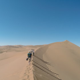 ...the sossusvlei excursion is the best in the area...