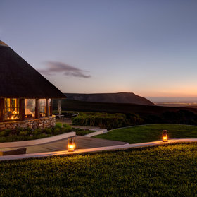 The Garden Lodge within the Grootbos reserve is an ideal getaway for families.