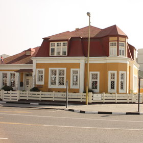 Villa Margherita is a lovingly restored guesthouse in the heart of Swakopmund.