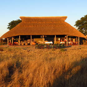 Camp Hwange, a well established safari camp in the Hwange National Park.